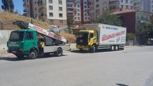Ankara Nakliyat'ta Asansörlü Taşımacılık